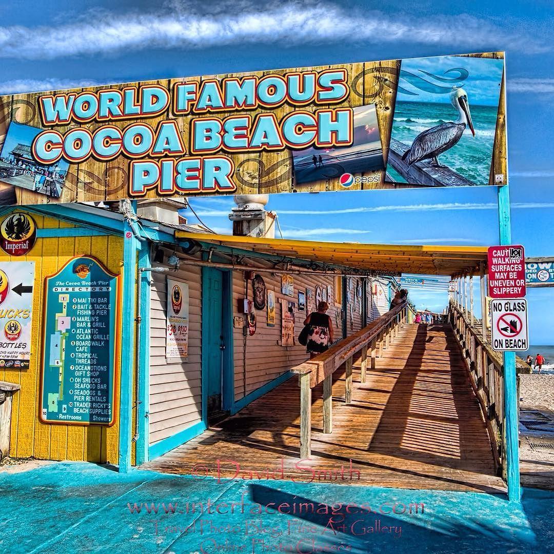 World famous cocoa beach pier cocoabeach cocoabeachpier for Cocoa beach pier fishing
