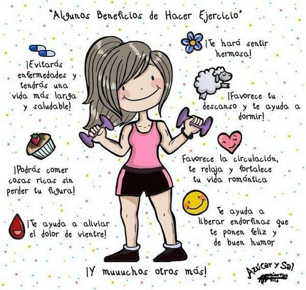 Beneficios de los ejercicios