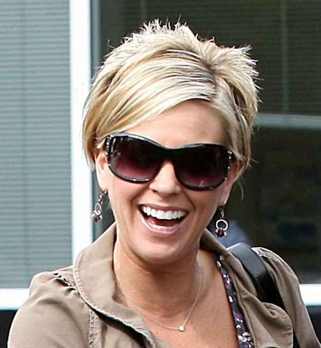 A Tribute To Kate Gosselin S Iconic Spiky Reverse Mullet Bob Kate Gosselin Hair Mullet Hairstyle Pixie Haircut