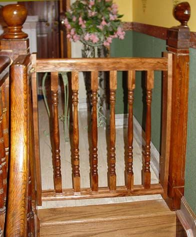 Good Wooden+baby+gates | Gates For Stairs   Custom Wood Gates Through Our Partner