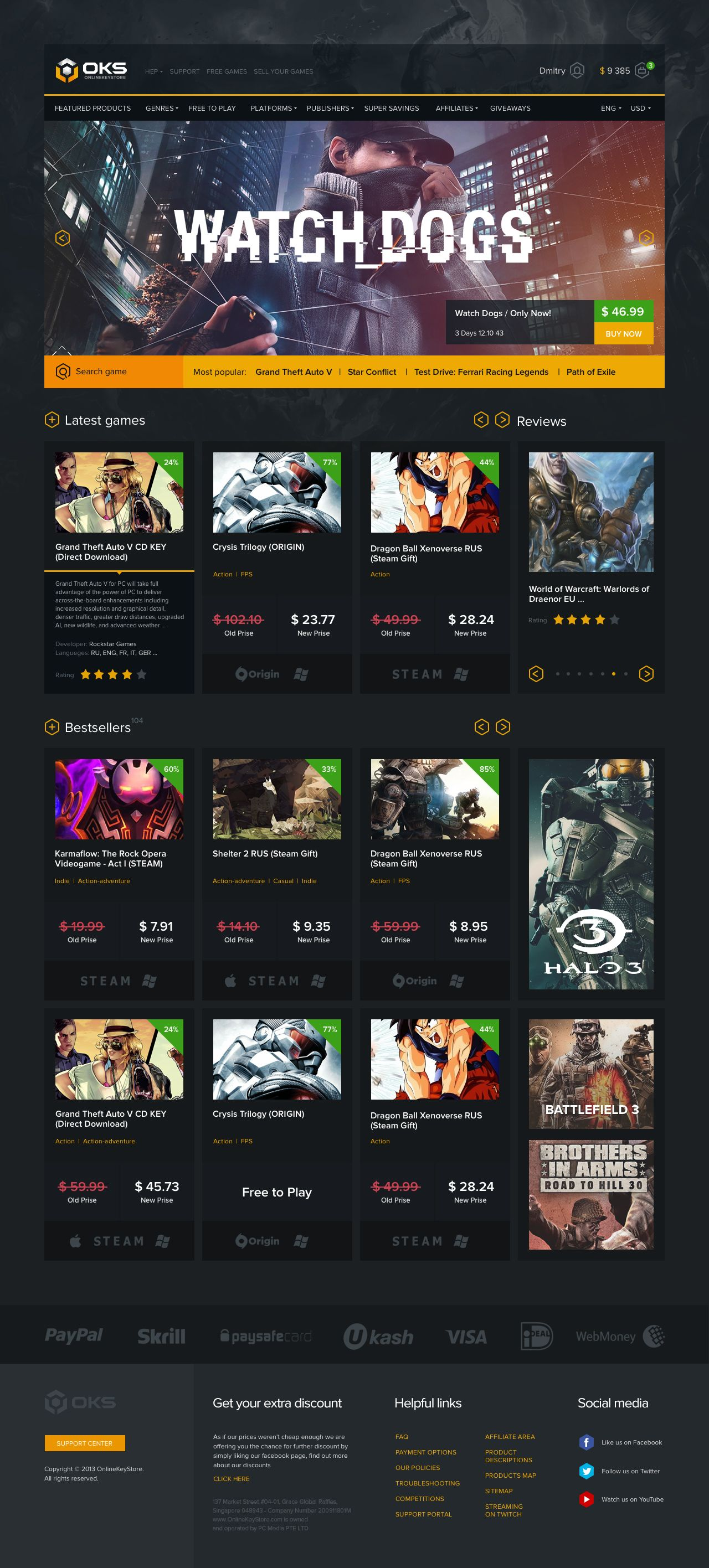 Main Jpg By Nikitin Ecommerce Web Design Web Design Mobile Web Design
