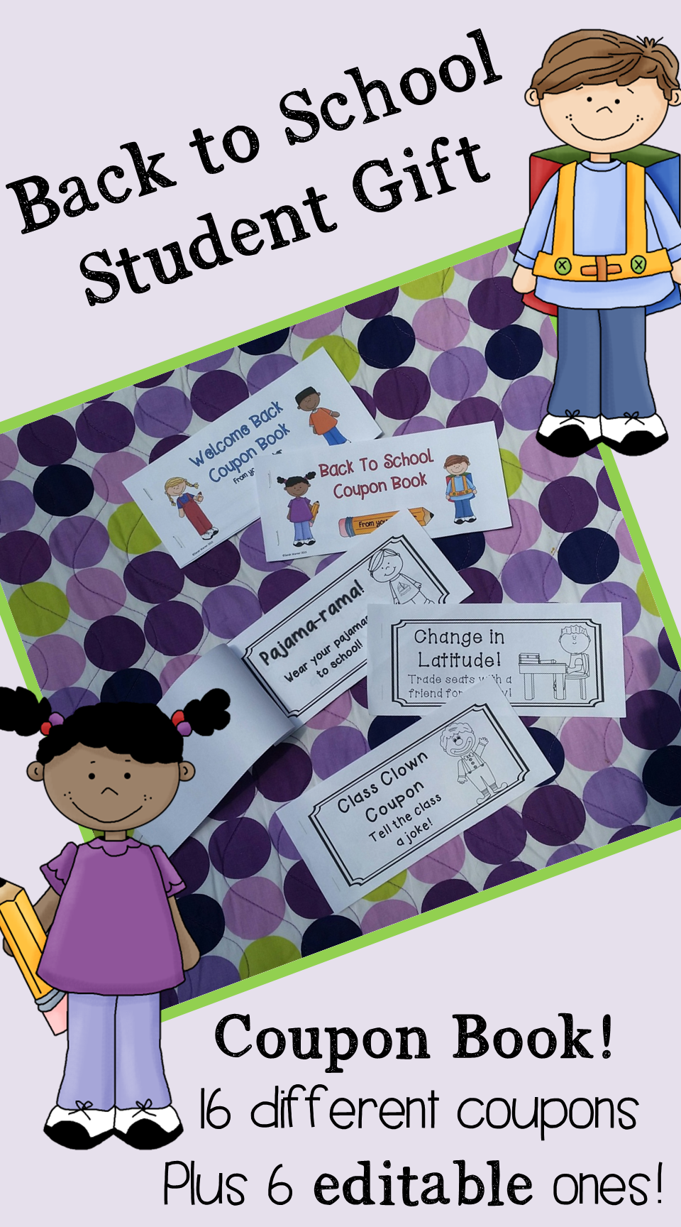 Start The Year Off On A Positive Note With These Fun Back To School Coupon Books For Your Students Inex School Coupons Coupon Book Third Grade Math Worksheets