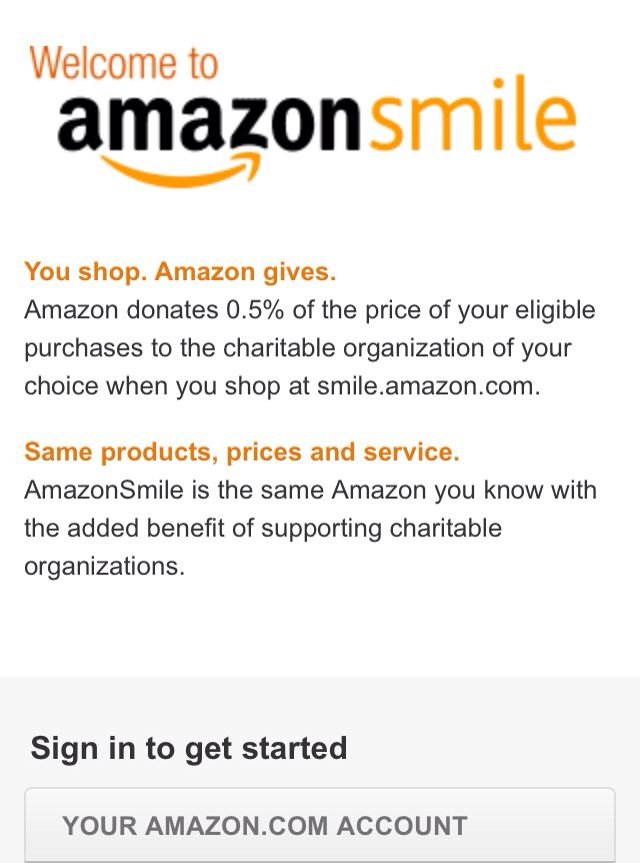 Amazon Smile Will Donate 5 Of The Things You Purchase To Any