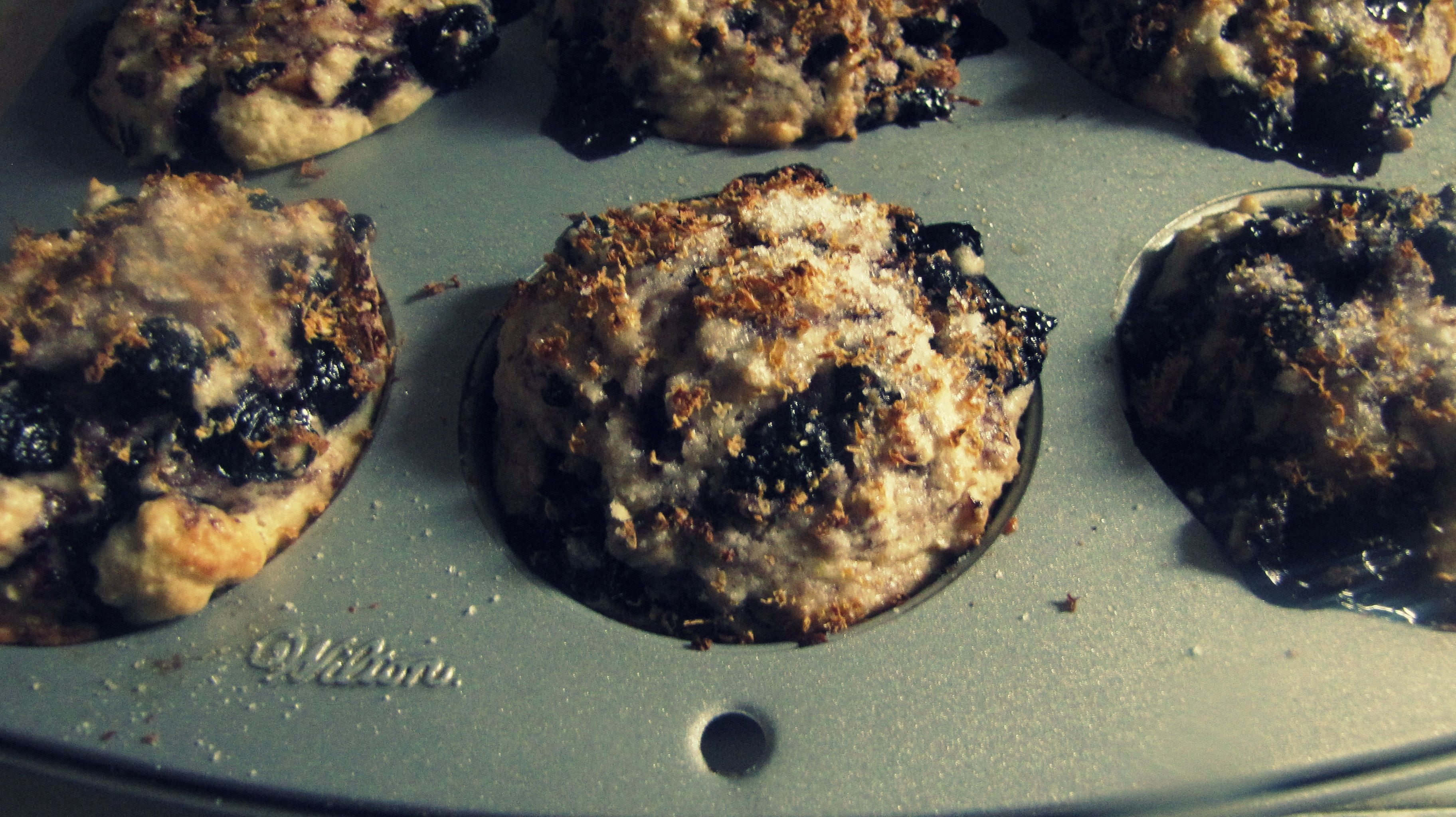 simple and amazing blueberry muffins