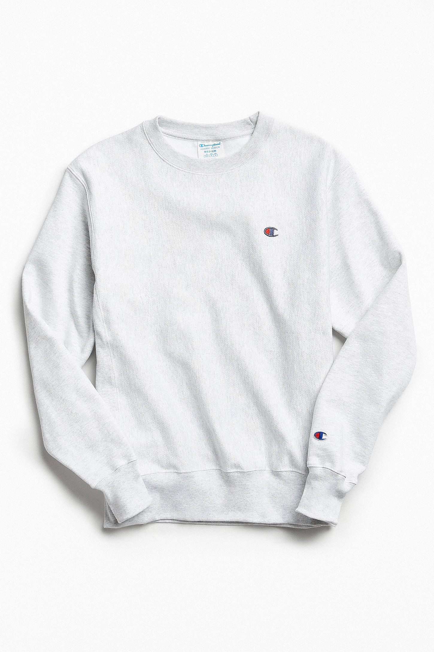 8abd6d0a Champion Reverse Weave Fleece Crew Neck Sweatshirt | Urban Outfitters