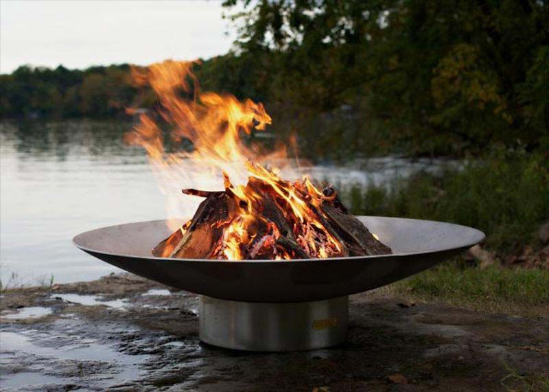 Inspirational Modern Wood Burning Fire Pit Excellent 54 For Line With