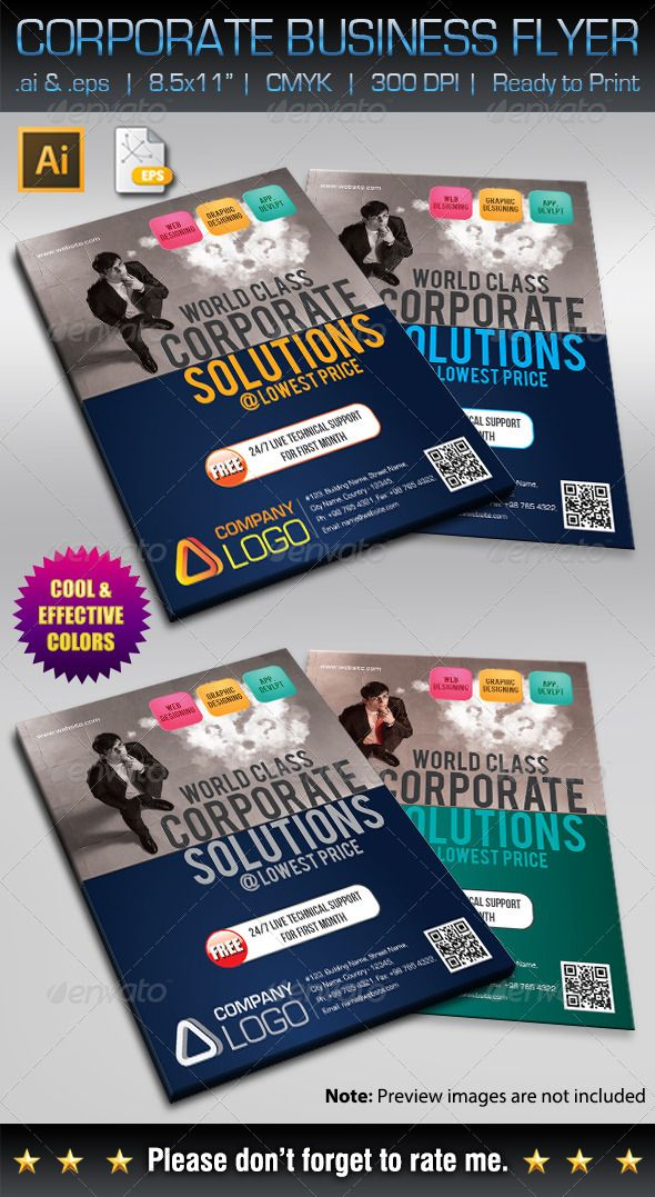 corporate business flyer v3 corporate flyers