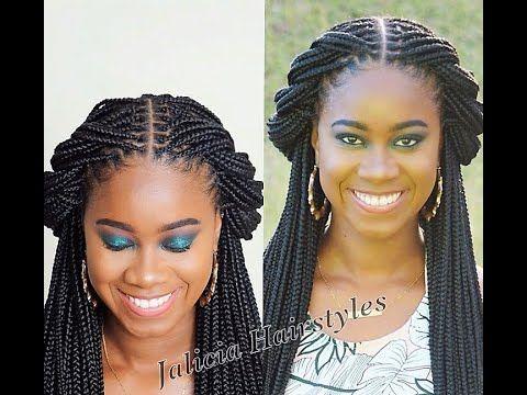 15 Knotless Box Braids Youtube Braided Hairstyles Updo Box Braids Hairstyles Box Braids Styling