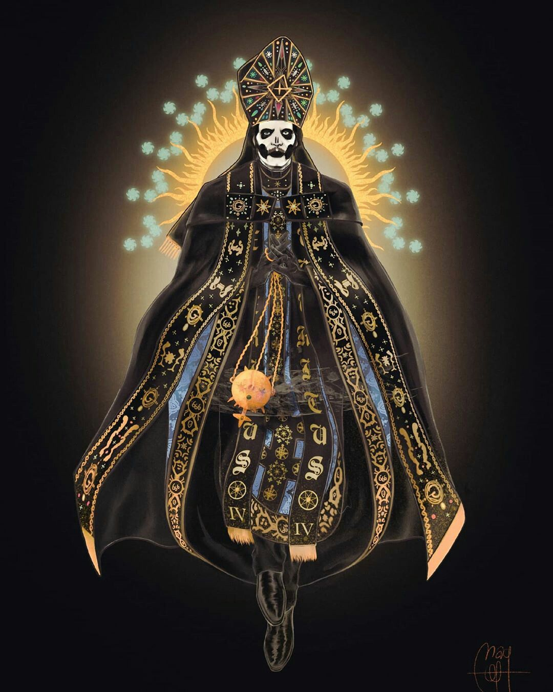 Papa Emeritus Iv By Magof666 Ghost Papa Ghost And Ghouls Band Ghost