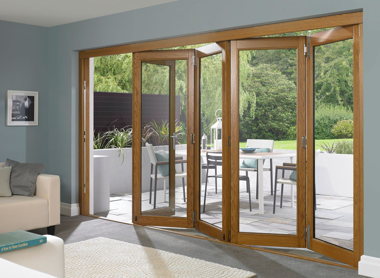 Glass Folding Patio Doors Large Outdoor Designing Pinterest