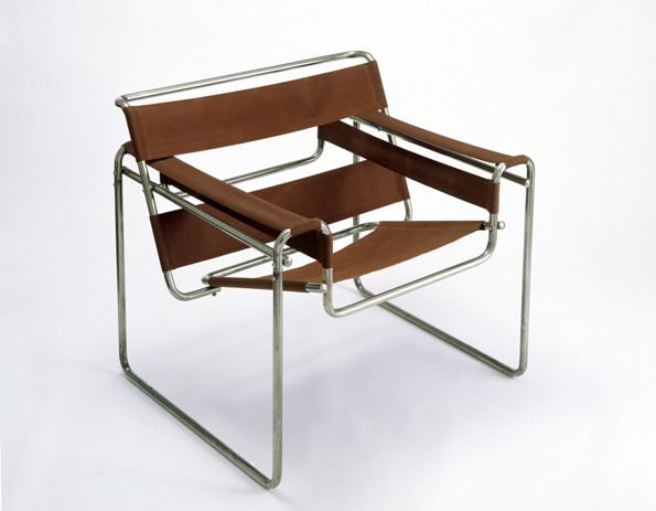 Bauhaus Furniture Marcel Breuer Club chair model Wassily 1925 - the first chair to be made of tubular steel is a century design icon. & Marcel Breuer Chair - 1920s | C H A I R design | Pinterest | Marcel ...