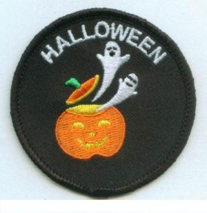 Halloween Ghosts/Pumpkin (Iron-On)