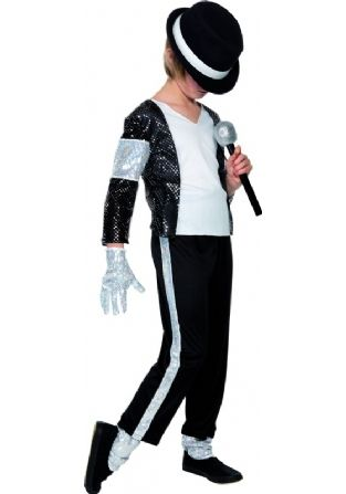 3cc3a6b0349c5 Kids Michael Jackson Billie Jean Costume