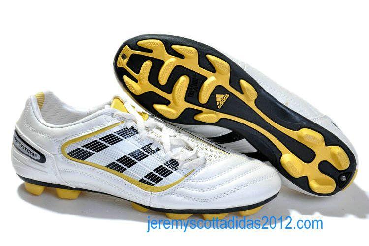 Adidas Predator X TRX AG Football Shoes White Gold  1b8fb995408c