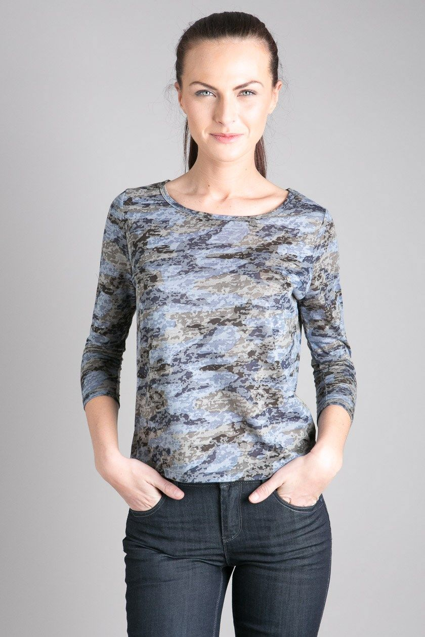 T-shirt femme manches longues army  5218a020f50
