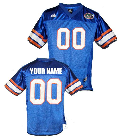promo code b0c0c 32122 Custom Florida Gators Jersey Customized Blue Men NCAA ...