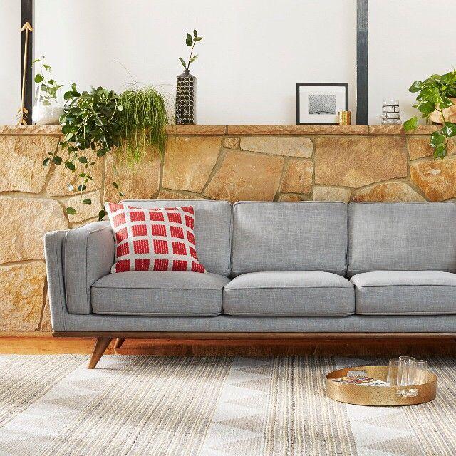 Dahlia 3 Seat Sofa Freedom Furniture Fabric Sofa Furniture