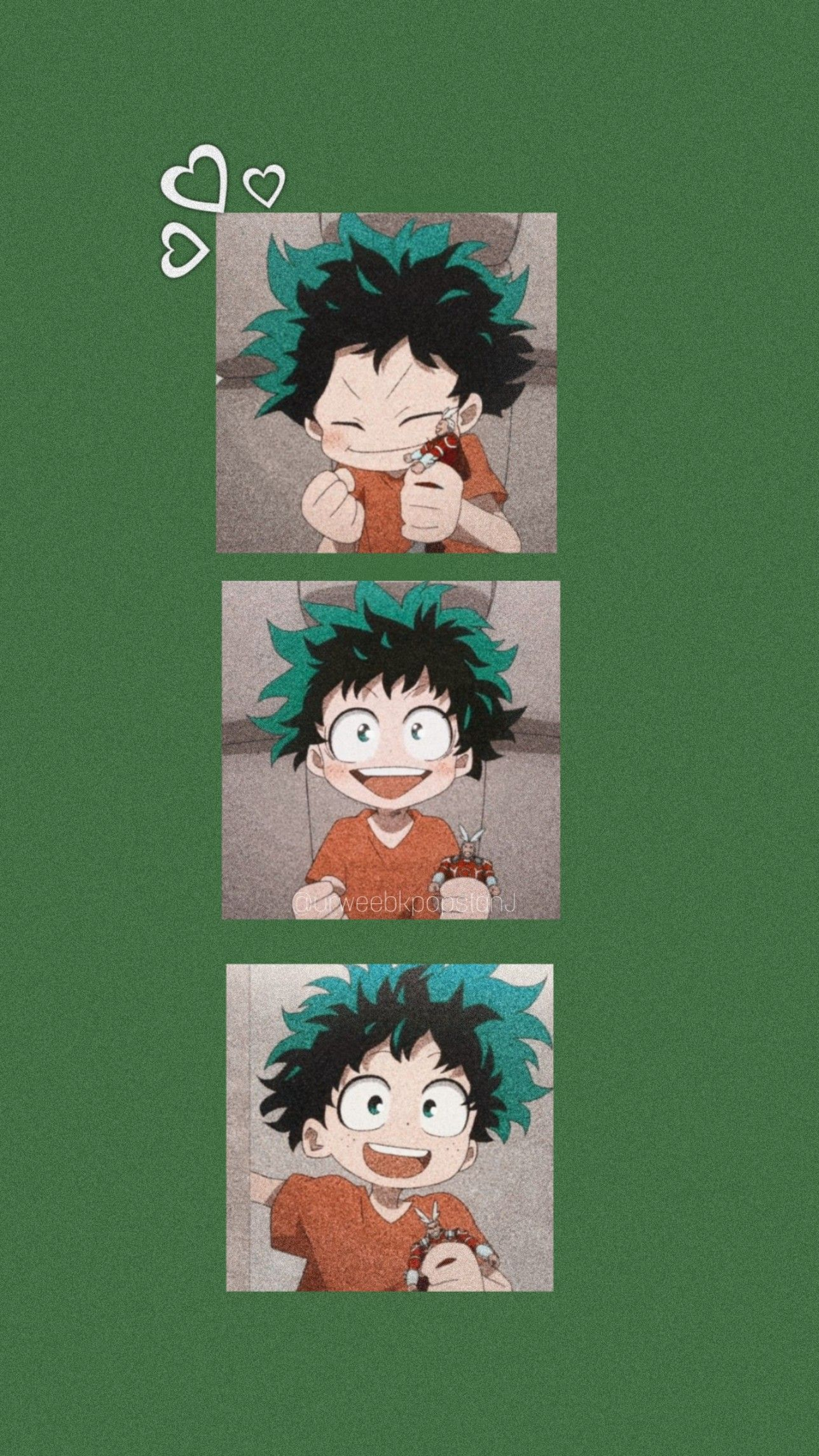 My Hero Academia Deku Wallpaper Cute