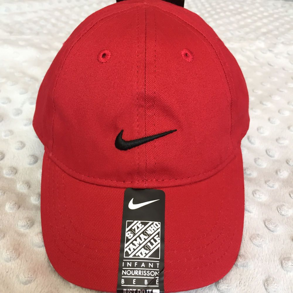 48f3f48f07c unisex infant  nike baseball cap hat cotton adjustable from  14.0 ...