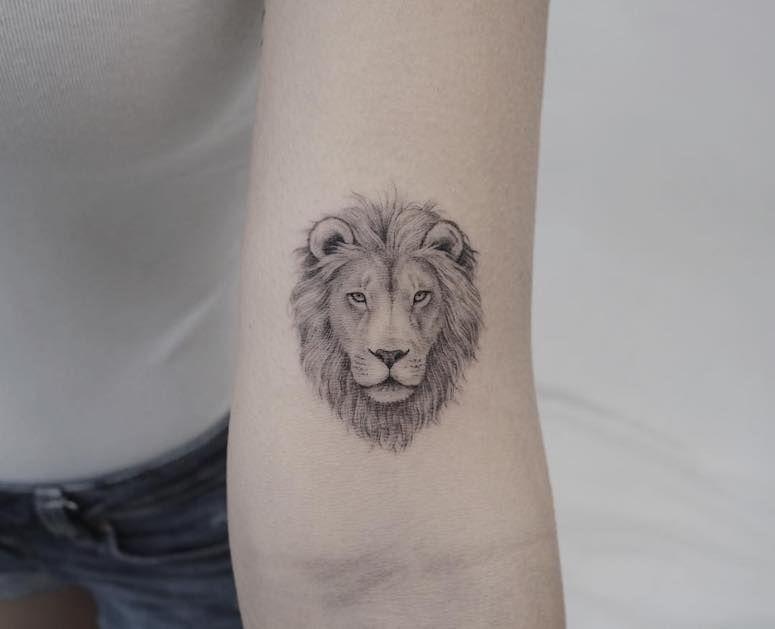 Tatuagem de leão: inspire-se em 80 artes representando o rei da selva
