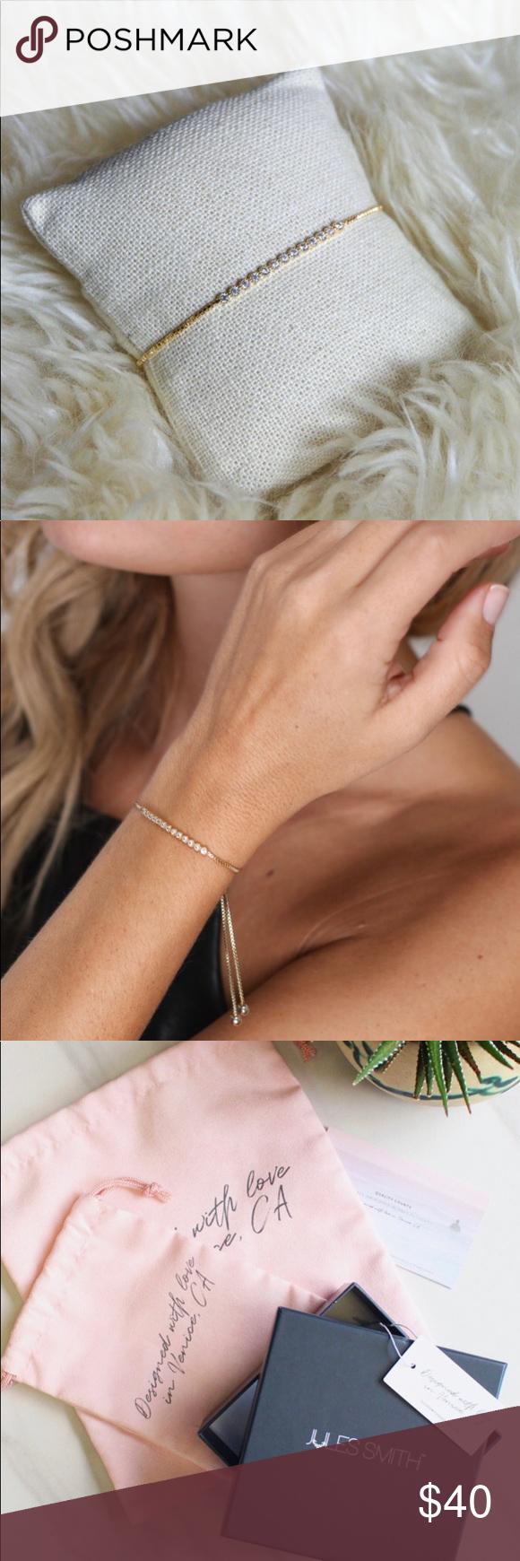 Jules Smith Designs Daisy Chain Bracelet In 2020 Chain Bracelet How To Make Beads Daisy Chain