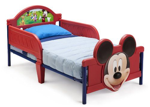 Delta Children's Products Mickey Mouse 3D Toddler Bed Delta Children's Products http://www.amazon.com/dp/B00CMHYKNW/ref=cm_sw_r_pi_dp_HsFZtb196Y3D6P7F
