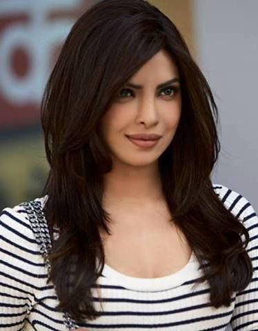 Priyanka Chopra Haircut For Big Forehead Long Layered Hair Haircuts For Long Hair