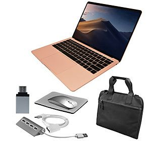 "2019 Apple MacBook Air 13"" Retina with Accessories - QVC.com"