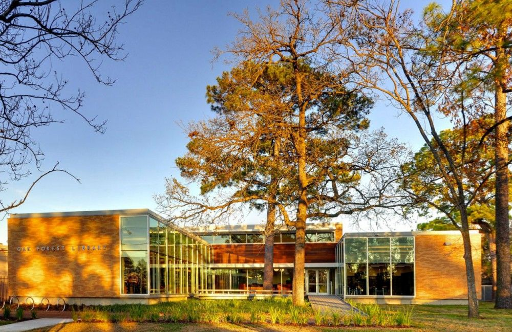 Oak Forest Library / Natalye Appel + Architect Works, Inc