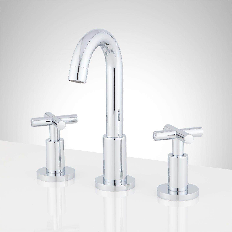 com chrome ara delta with amazon hole single faucets bathroom faucet handle mpu dp plate