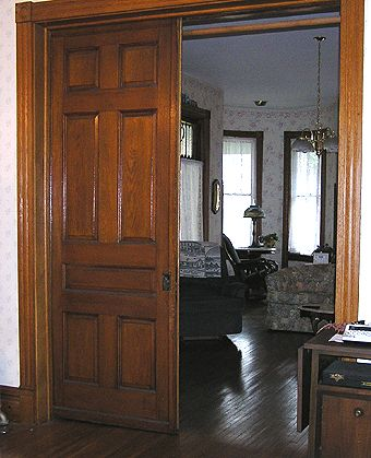 Pocket Doors In Mira And Owens House