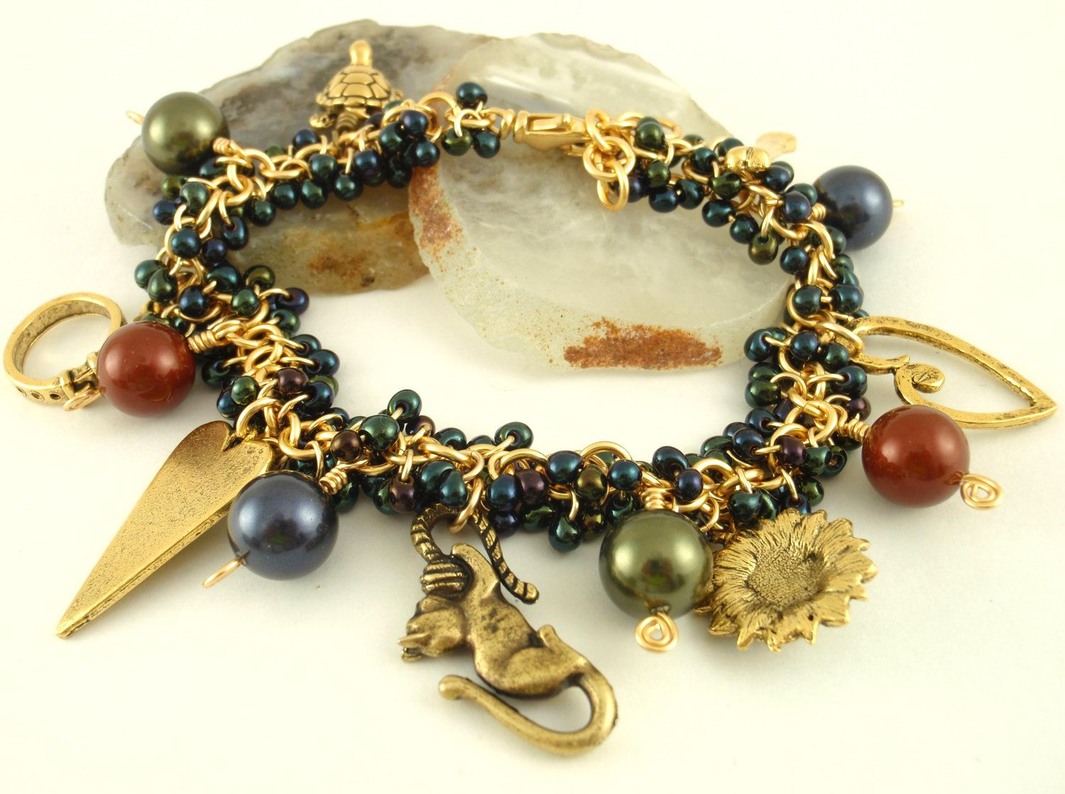 Charmed Shaggy Beaded Bracelet