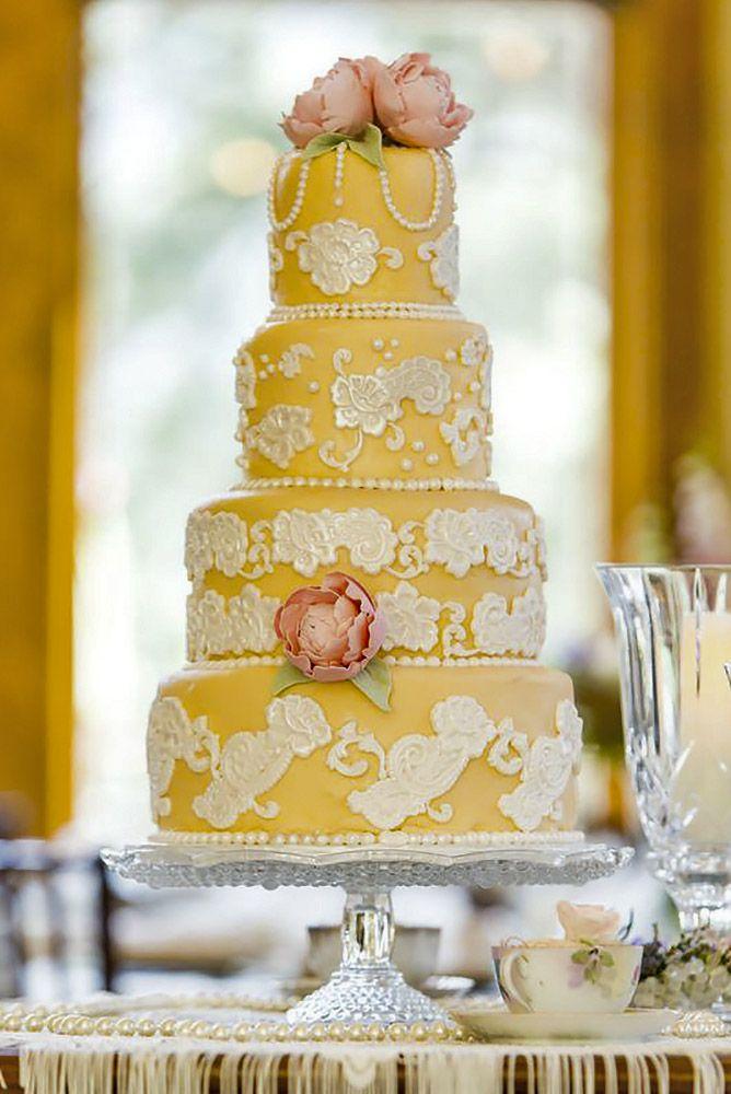 36 Gorgeous Textured Wedding Cakes Ideas | Textured wedding cakes ...
