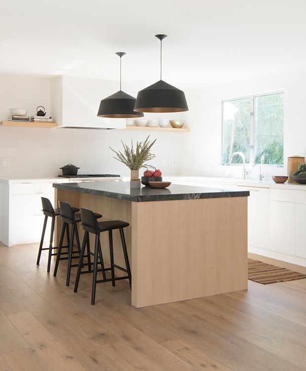 White Kitchen Cabinets Light Floor: Hot Look: 40 Light Wood Kitchens We Love