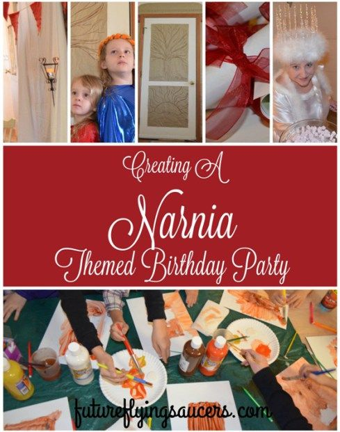 Narnia Birthday Party