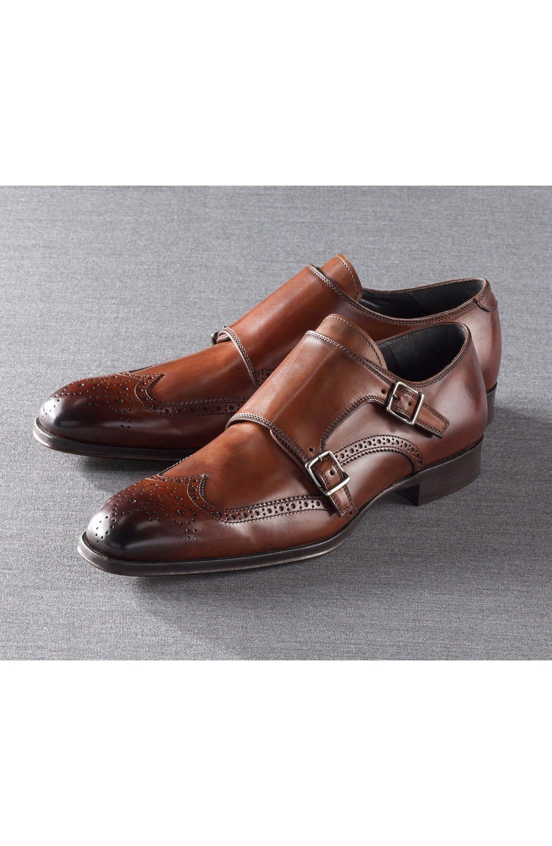 86fa0844126f5 Free shipping and returns on To Boot New York 'Burns' Double Monk Strap Shoe  (Men) at Nordstrom.com. Wingtip paneling adds sharp texture to a bold monk  ...
