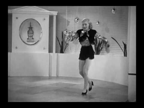 Follow The Fleet 1936 Let Yourself Go Ginger Dances Alone Dance Pictures Musical Movies Fred Astaire