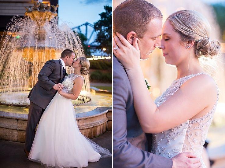 Mark Meggan S La Crosse Wi Waterfront Wedding Tiffany Brubaker