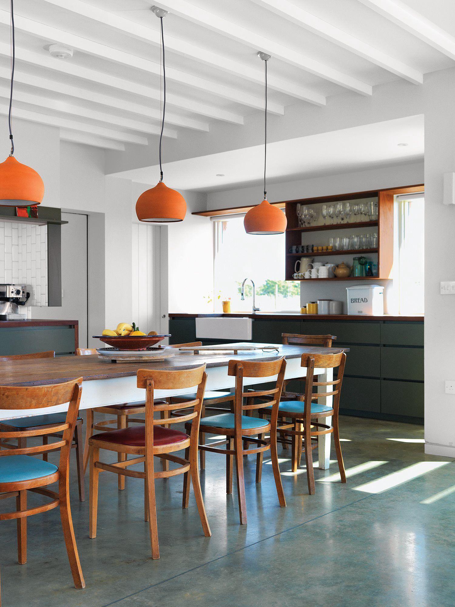 Orange Drop Lights For Dining Room