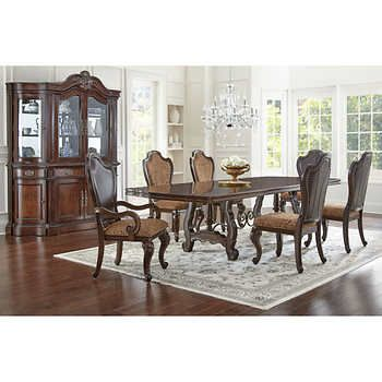 arriana 8 piece dining set furnishings for my home dining set rh pinterest com