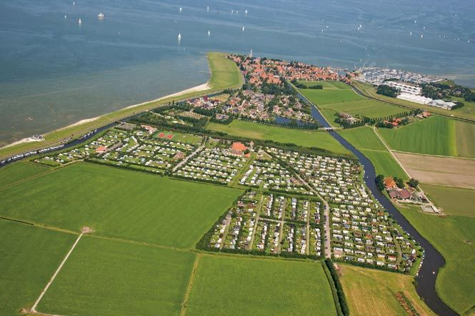 Camping Hindeloopen IJsselmeer Niederlande