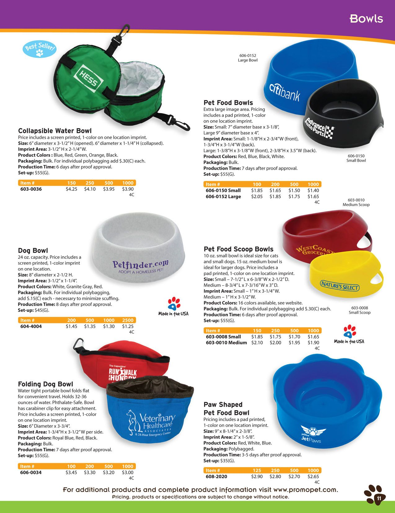 custom printed pet food and water bowls bulk logo pet products