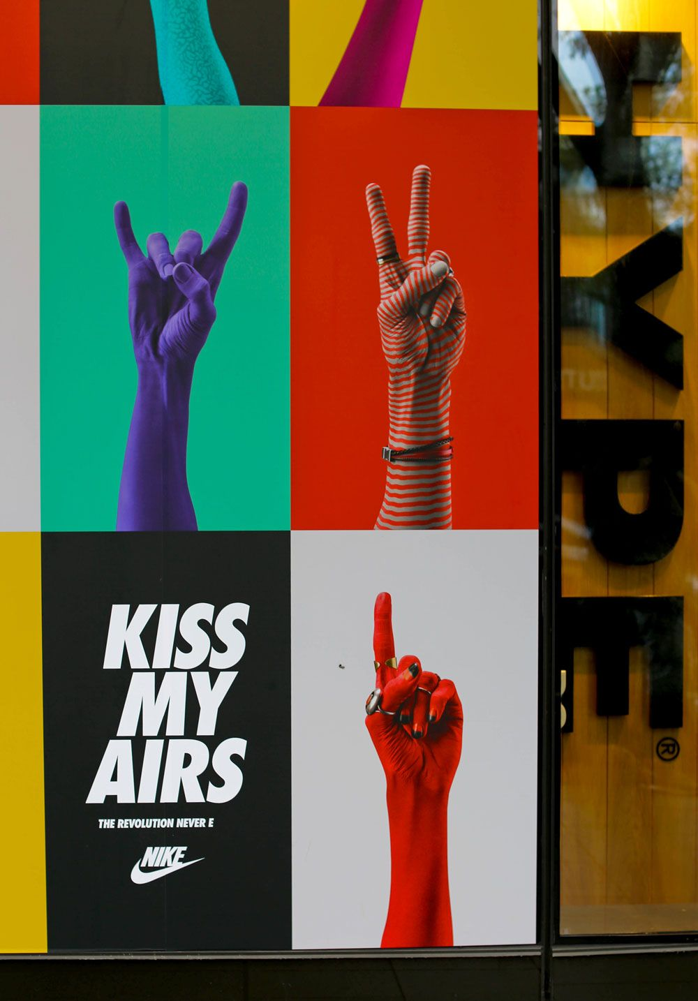 Nike Kiss My Airs Campaign by Collins — The Brand Identity