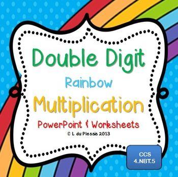 Number Names Worksheets : 2 digit by 2 digit multiplication 2 ...