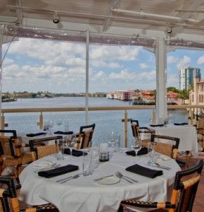 Bayside seafood grill bar party on the patio at venetian for Fish restaurant naples