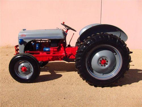 Oil Gerar 1951 8n Ford Box Fill Tractor