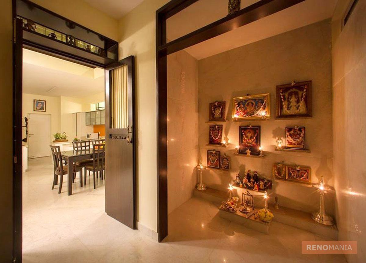 Marble Flooring In Pujaroom. Puja RoomPrayer ... Part 92