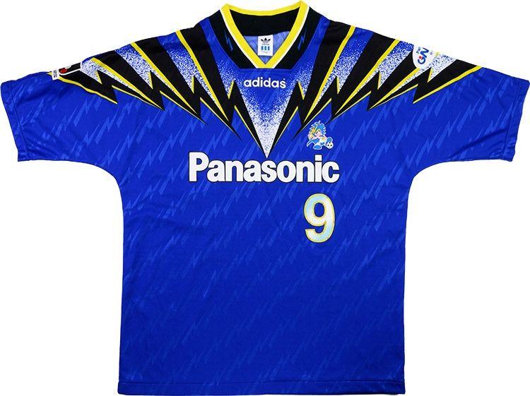 564736dee60 1996 Gamba Osaka Match Worn Home Shirt  9 (v Newcastle)