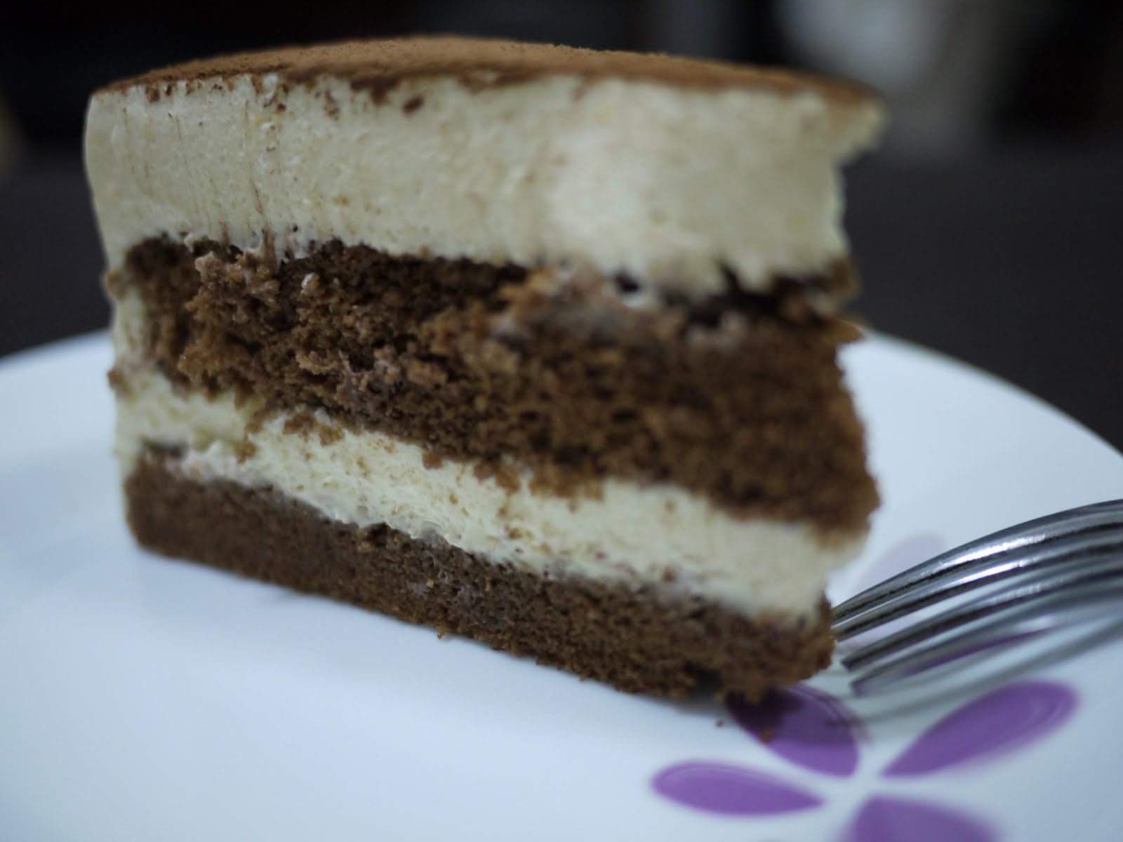 Moist Chocolate Layer Cake Recipe neeble neeble Tiramisu layer