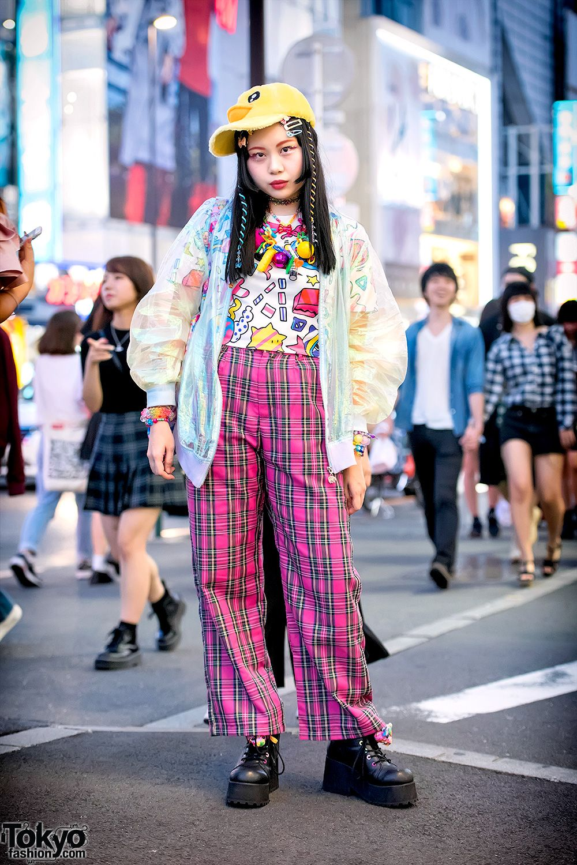 ce964a7d4a Kawaii Harajuku Street Fashion w/ Galaxxxy, 6%DOKIDOKI, ACDC Rag & Swimmer  Japan